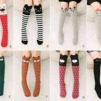 Kaos kaki Panjang anak Perempuan import murah lucu
