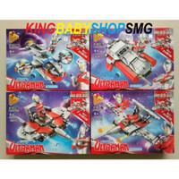 Set 4in1 Panlos Brick Ultraman 690001A-D / Lego Mainan Anak