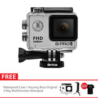 Brica B-Pro 5 Alpha Edition (AE Basic) + 3 Way Monopod - Silver