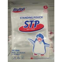 Plastik standing pouch 16 x 24 cm ( isi 50 lmbr)
