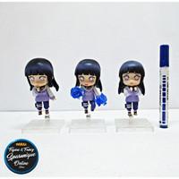 Action Figure Nendoroid Hinata Hyuga set isi 3 loose