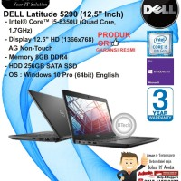 DELL Latitude 5290 NonFP Intel Core i5-8350U/8GB/256GB SSD/WIN10PRO
