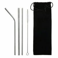 Sedotan Stainless Steel / Eco friendly sedotan / reusable straw silver