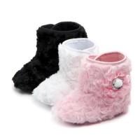 PW50 - Prewalker boots bulu bunga sepatu baby girls