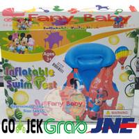 Inflatable Swim Vest Disney Ages 3+ Size 54x55cm