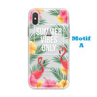 Summer Flamingo Soft Case Oppo A7 Vivo V15 Y91 Y93 Y95 V5S V11 Y71 Y81