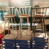 Kursi Bar / Bangku Bar / Bar Stool / Bar Chair Swivel 360°