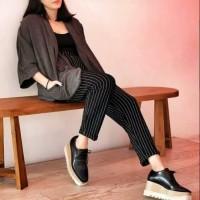 Celana Kulot Wanita Muslim Jumbo Jeans Terbaru Murah Panjang Overall