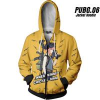 PUBG 06 Playeruknowns Battleground Jaket Hoodie Game