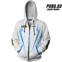 PUBG 03 Playeruknowns Battleground Jaket Hoodie Game