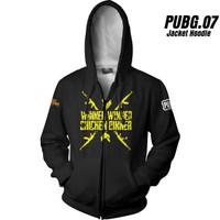 PUBG 07 Playeruknowns Battleground Jaket Hoodie Game