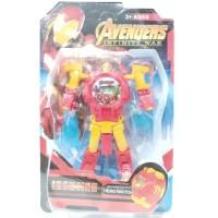 Jam Tangan Anak Digital Hero Watch Robot Avengers Ironman HW