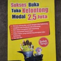 SUKSES BUKA TOKO KELONTONG MODAL 2, 5 JUTA