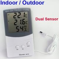 NEW Hygrometeter Thermometer Indoor & Outdoor (2 sensor)