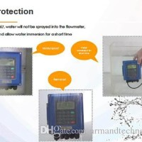 Flow Meter TUF2000B Ultrasonic Liquid Tester Flowmeter