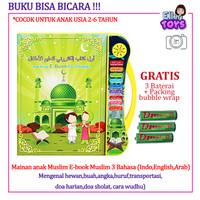 Mainan anak Muslim E-book Muslim 3 Bahasa / Mainan Edukasi