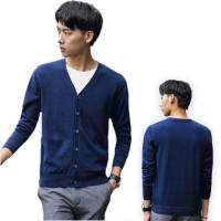 Rompi Pria / Jaket -- Okechuku RICO - Cardigan Rajut V neck Fashion