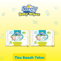 Twinpack Sweety Baby Wipes Telon