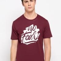NewG Kaos Pria 'NO FEAR' / Kaos Katun / Tshirt Cowok / Baju Casual
