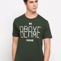 NewG Kaos Pria 'Be Brave Blame None' / Kaos Katun / Tshirt Cowok