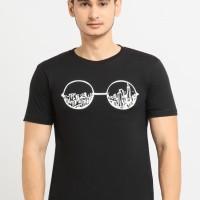 NewG Kaos Pria / Kaos Katun / Tshirt Cowok / Baju Casual Kacamata