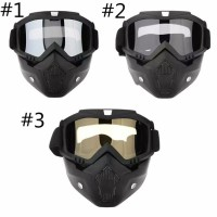 Goggle Mask Modular Masker Kacamata Bogo Motor Airsoftgun Cross Trail