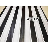 WPS119 BLACK N GREY LINE wallpaper-dinding walpaper stiker dinding