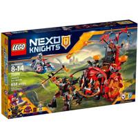 LEGO 70316 Nexo Knights Jestro's Evil Mobile Knight Minifigure Mainan