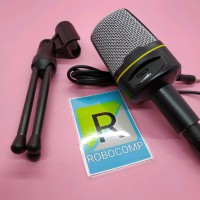 Paling Murah Microphone 3.5Mm Singing Karaoke Mic Condenser Pc Laptop
