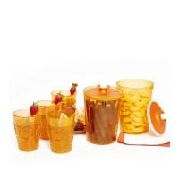 Diskon !!! Set 6 Pcs Gelas Toples Sunday Makanan Minuman Kairo Ramdhan