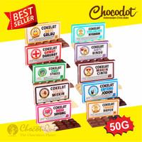 TERLARIS & TERBARU Cokelat CHOCODOT Update MINI Series 50gr