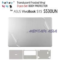 Body Protector ASUS VivoBook S15 S530UN - KAKAY 3pcs Translucent Vinyl