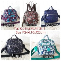 KP608M Tas Kipling Motif Tas Import Wanita Kipling 3in1