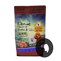 kitchen flavor nature gourmet 1.5 kg salmon coat-beautifying dog food