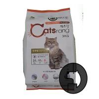 catsrang 3 kg cat indoor outdoor all stages