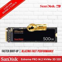 SSD Sandisk Extreme PRO 3D M.2 2280 Pcie Nvme 500GB - Sandisk M2 500GB