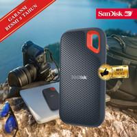 SSD Sandisk Extreme External Portable 250GB USB C 3.1 Eksternal 250 GB