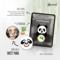 [ PANDA ] HANASUI ANIMAL PANDA WHITENING SHEET FACE MASK