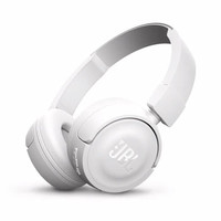 JBL Wireless On-Ear Headphone T450BT (Garansi IMS) - Putih