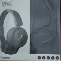 JBL T450BT Wireless Headphones Bluetooth Original - Hitam
