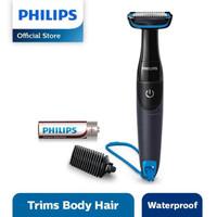 Philips Bodygroom Series 1000 BG1024 Pencukur - Hitam-Biru