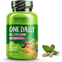 NATURELO One Daily Multivitamin for Women 50+ (Iron Free)