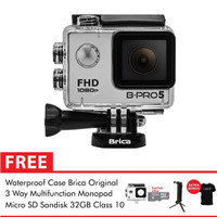 Brica B-Pro 5 Alpha Edition (AE Basic) 3 Way Supreme 32GB - Silver