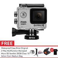 Brica B-Pro 5 Alpha Edition (AE Basic) 3 Way Deluxe 32GB - Silver