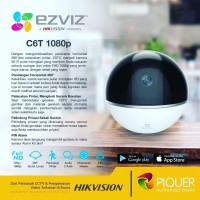 Ezviz C6T 1080 Wifi Internet cctv camera 360 PTZ resmi Indonesia