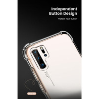 Softcase Huawei P30 Pro Case - Acryic Back Hard Cover Side Soft Casing