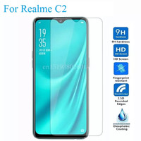 Tempered Glass Realme C2 Anti Gores Kaca Clear Transparan Screen Guard