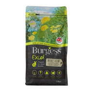 Burgess Excel Natures Blend Nuggets Rabbit Food Makanan Kelinci 1.5kg
