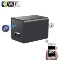 Spy / Hidden Camera / Kamera Pengintai WIFI Wall Charger Adaptor