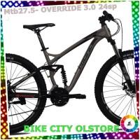 Sepeda Gunung Pacific mtb 27.5 OVERRIDE 3.0 GRATIS ONGKIR JADETABEK